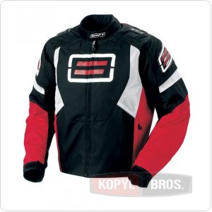 Мотокуртка SHIFT Super Street Textile Jacket красная (10023-003-004)   ― Motocross.UA