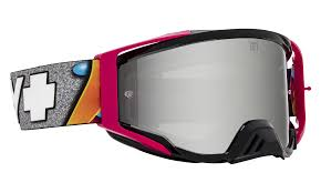 SPY+Foundation Plus Jeremy McGrath + - HD Smoke with Silver Spectra Mirror -HD Clear   (3200000000001) ― Motocross.UA