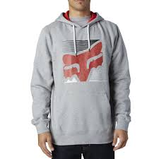 Толстовка FOX HOME BOUND PULLOVER FLEECE [HTR GRY] (16573-040) ― Motocross.UA