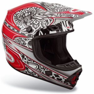 Bell MX-1 Speed Tat Red (2017840-S) ― Motocross.UA