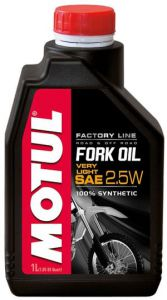 Motul 821901/FORK OIL VERY LIGHT FACTORY LINE SAE 2,5W (1L)/105962 ― Motocross.UA