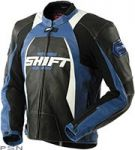 Куртка МОТО SHIFT SR-1 Leather Jacket Black/Blue  (70069-013-007)