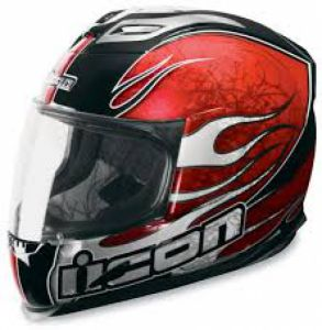 ICON AIRFRAME CLAYMORE RED ― Motocross.UA