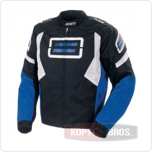 Мото куртка SHIFT Super Street Textile Jacket синяя (10023-002-006) ― Motocross.UA