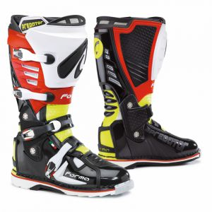 Forma Predator (FORC420-997810) black/yellow fluo/red  ― Motocross.UA