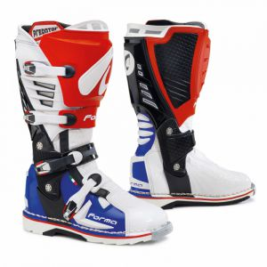 Forma PREDATOR (FORC420-981011) white/red/blue ― Motocross.UA